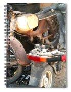 Abandoned Motorbike  Spiral Notebook
