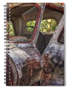 Abandoned Old Truck Newport New Hampshire Spiral Notebook