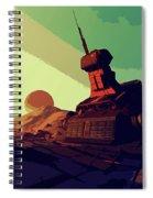 Abandoned On An Alien World Spiral Notebook