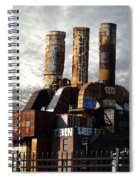 Abandoned Power Plant Spiral Notebook