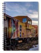 Abandoned Railcar Spiral Notebook