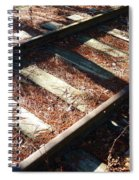 Abandoned Railtracks Spiral Notebook