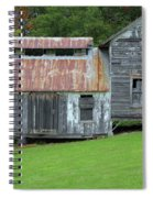Abandoned Shack By The Road Spiral Notebook