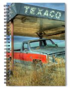 Abandoned Silverado Spiral Notebook