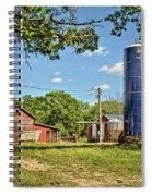 Abandoned Spring Farm Spiral Notebook