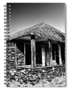 Abandoned Stone House Spiral Notebook