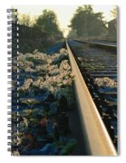 Abandoned Tracks Spiral Notebook