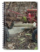 Abandoned Tractor Spiral Notebook