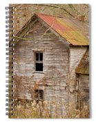 Abandoned Turn Of Centruy Home Spiral Notebook