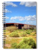 Abandoned Warehouse Spiral Notebook