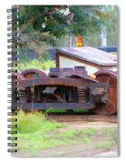 Abandoned Wheels Spiral Notebook