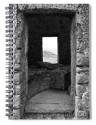 Abandoned Windmill Spiral Notebook
