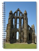 Abbey At Whitby  Spiral Notebook