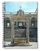 Abbey Of Montecassino Courtyard Spiral Notebook
