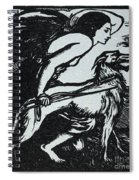 Abbey Theatre Emblem  Spiral Notebook