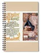 Abc Myslete Elizabeth Merkuryevna Boehm Endaurova Spiral Notebook