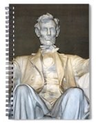 Abe Down To His Knees Spiral Notebook