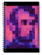 Abe In Hot Pink  Spiral Notebook