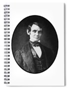 Abe Lincoln As A Young Man  Spiral Notebook