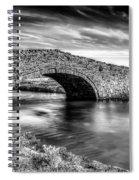 Aberffraw Bridge V2 Spiral Notebook