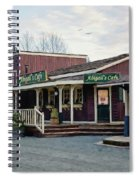 Abigail's Cafe - Hope Valley Art Spiral Notebook