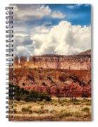 Abiquiu Landscape  Spiral Notebook