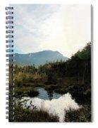 Abol Mt And Round Pond Spiral Notebook