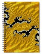 About Mountains And Rivers - Abstract Spiral Notebook