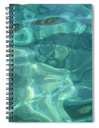 Above And Beneath Spiral Notebook