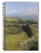 Above Coast Dairies Spiral Notebook