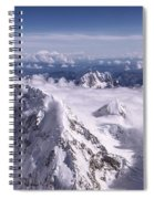 Above Denali Spiral Notebook