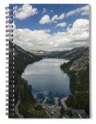 Above Echo Lake Spiral Notebook