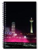 Above Niagara Spiral Notebook