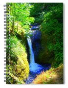 Above Onionta Falls Spiral Notebook