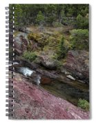 Above Redrock Falls Spiral Notebook