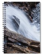 Above Small Falls Spiral Notebook