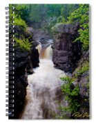 Above The Cauldron Spiral Notebook