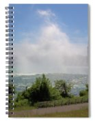 Above The Falls 3 Spiral Notebook
