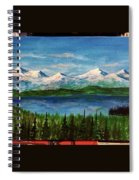 Above The Flathead  Spiral Notebook