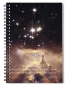 Above The Heavens Spiral Notebook