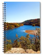 Above The Housatonic Spiral Notebook