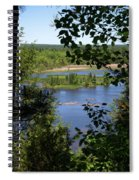 Above The Trees Spiral Notebook