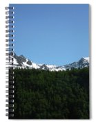 Above The Treetops Spiral Notebook