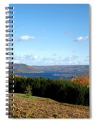 Above The Vines Spiral Notebook