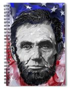 Abraham Lincoln - 16th U S President Spiral Notebook