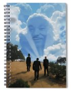 Abraham Martin And John Spiral Notebook