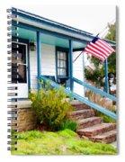 Abram Bell House Circa 1901 Spiral Notebook