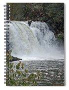 Abrams Falls Cades Cove Tn Spiral Notebook