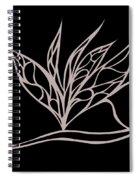 Absent Fairy Spiral Notebook
