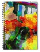 Absinthe Daffies Spiral Notebook